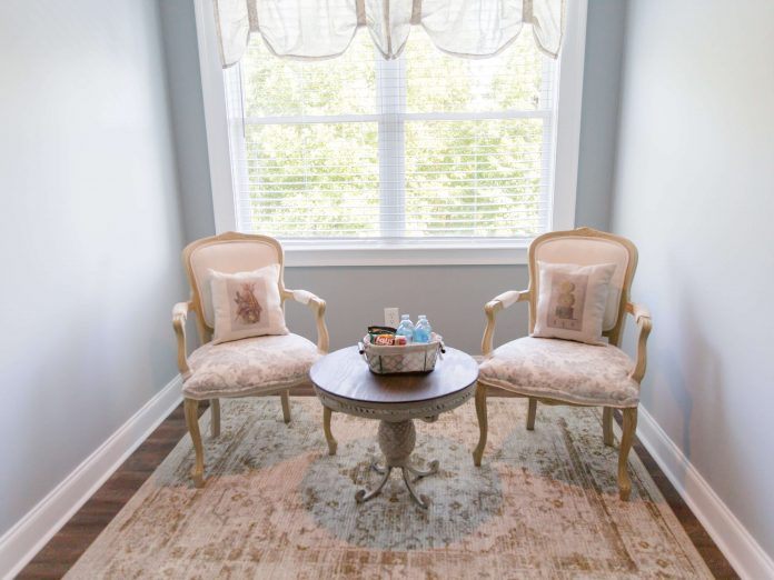 Ava House | Dahlonega, GA | Camellia Room - Sitting Area